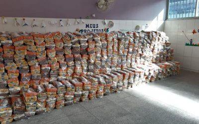 Doação de alimentos – Candeias