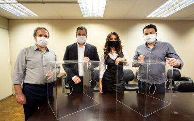 Doação de materiais essenciais para o setor médico e hospitalar