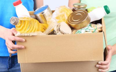 Doação de itens de higiene e alimentos – Cubatão